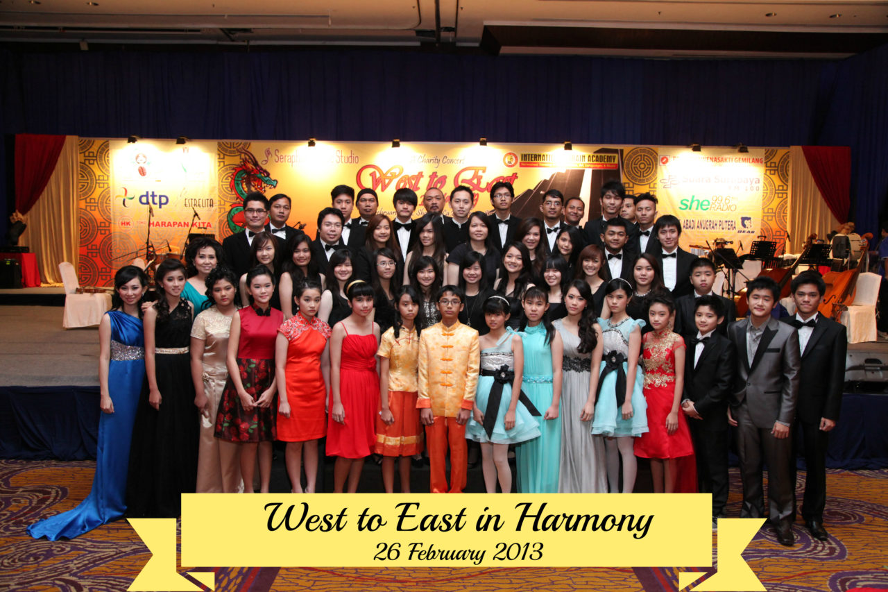 West to East in Harmony 26.2.13